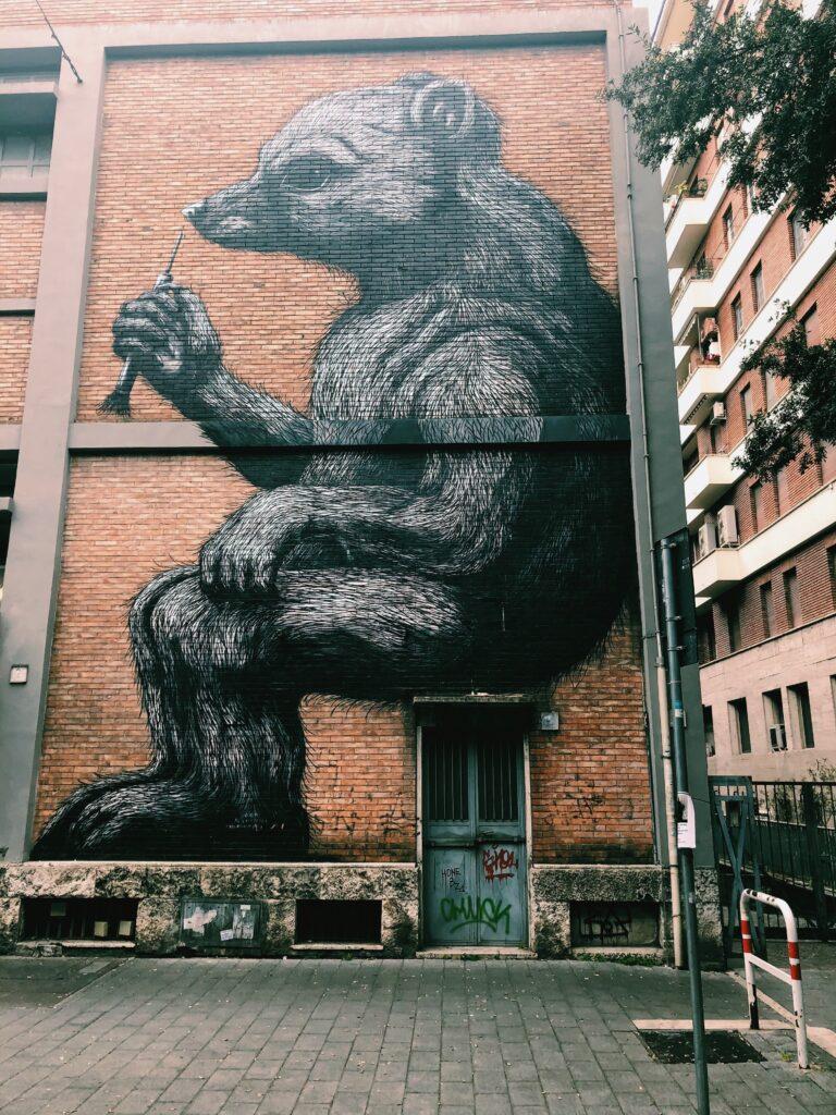 I murales di roma